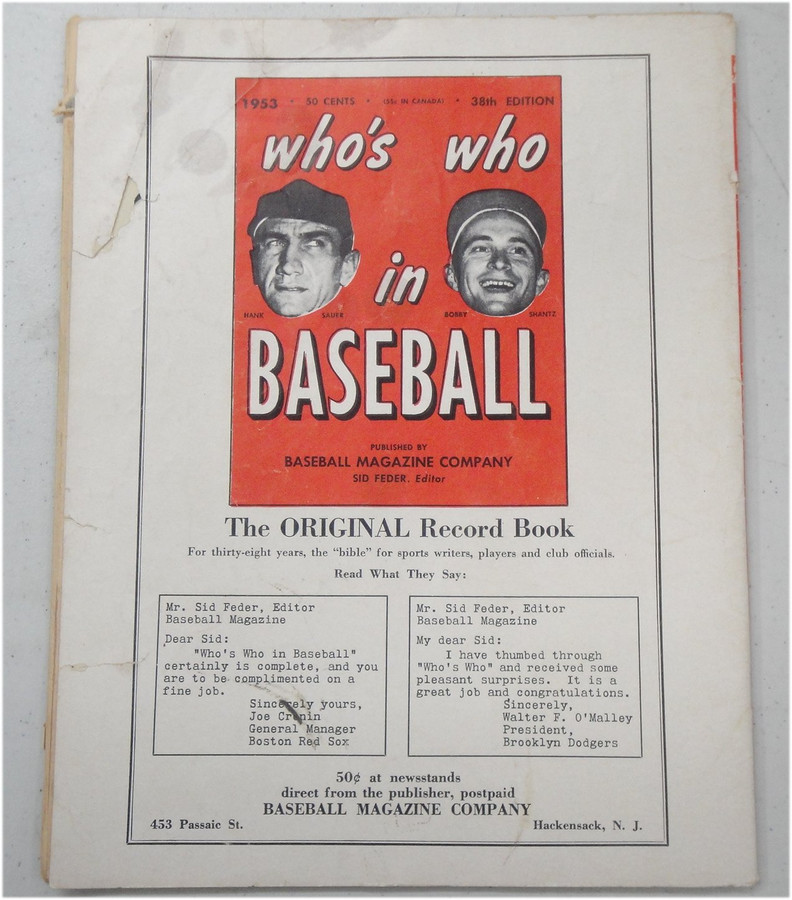 5 1947 1948 1950 1953 Vintage Baseball Books Stanstanleymusial Ted Williams
