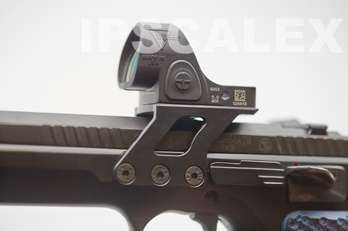 IPSCALEX Trijicon SRO/RMR Mount for CZ Czechmate/TSO