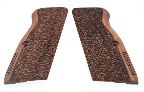 Tanfoglio/EAA wood grip set