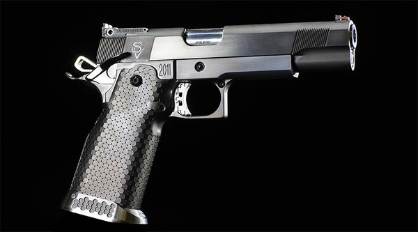 Custom built .40 S&W Competition wide body Target Pistol