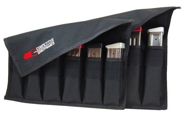 Magazine storage pouches