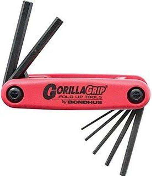 7 pc Bondhus Gorilla Grip Hex Keys Metric