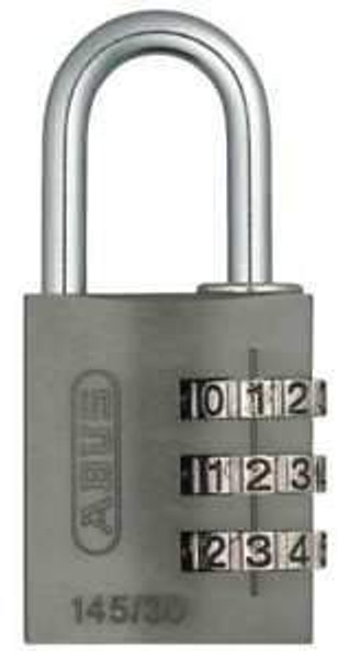 Abus 145-30 Combo Lock Black