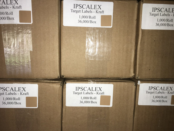 IPSCALEX Bulk target patches/pasters
