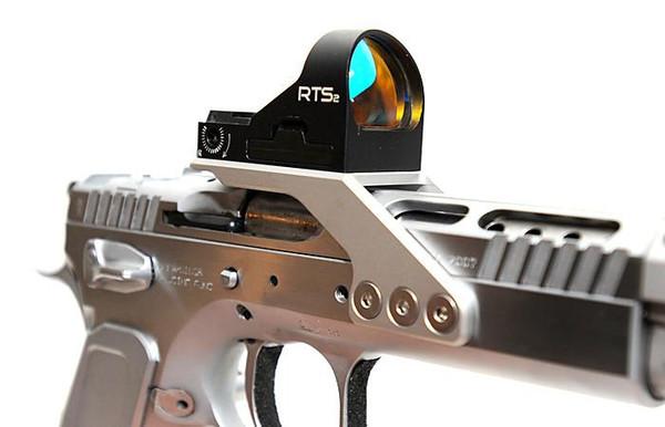 IPSCALEX  RTS2 mount for Tanfoglio pistols