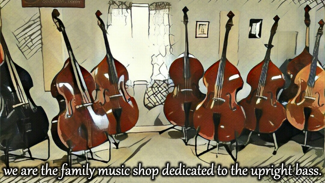 Gollihur Music is the family music shop dedicated to the upright bass