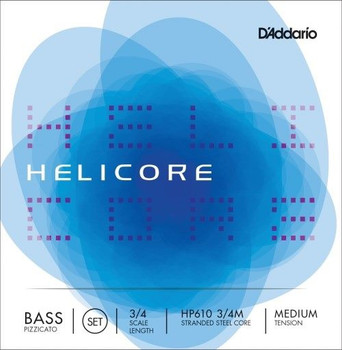 "Helicore ""Pizzicato"" Strings, standard package front"