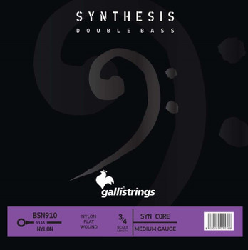 Synthesis Double Bass BSN910 Synthetic and Nylon String Set, standard package