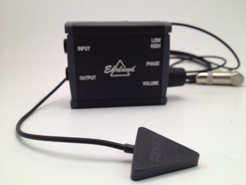 Acoustic Pickup (EAP) Linear Microphone (for Upright Bass), transducer and preamp