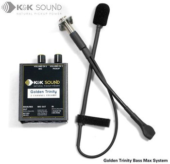 Golden Trinity Microphone/Pickup COMBINATION Systems, bass max system