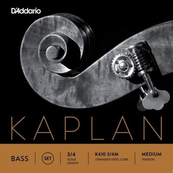 Kaplan Orchestral Upright Bass Strings, standard package front
