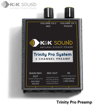 Golden Trinity Two Channel Preamp (Single TRS Input)