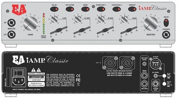 iAMP Classic (1200) Musical Instrument Amplifier, tone controls front/back