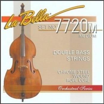7720 Rope Core Upright Bass Strings