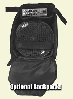 Backpack for Acoustic Image UpShot Speaker Cabinet