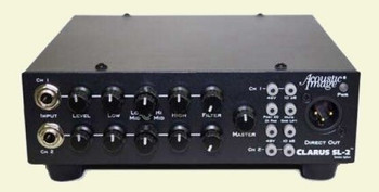 CLARUS SL-2 - 2-channel instrument amplifier, front