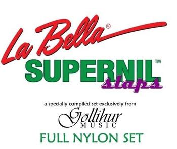 Supernil SLAPS Upright Bass Strings (Gollihur Exclusive)