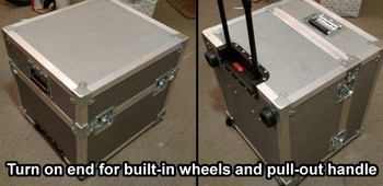 Flight Cases for Acoustic Image Combos and Speakers, handle