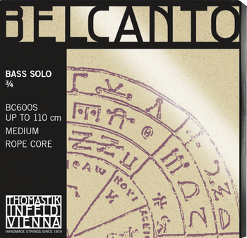 Belcanto SOLO Tuning Upright Bass Strings by Thomastik