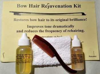 Bow Hair Cleaning and Reconditioning Kit