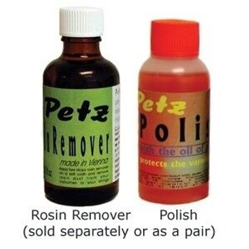 Rosin Remover and Instrument Polish by Petz