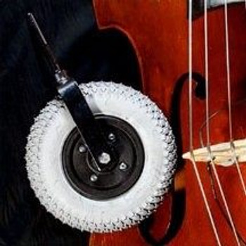 Gaines Upright Bass Transport Wheel, product shot
