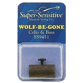 Wolf Tone Eliminator for Double Bass in package