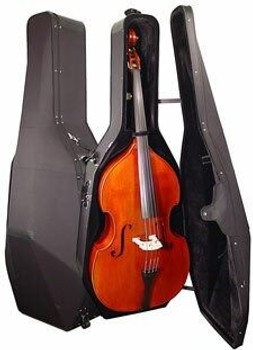 Lightweight Travel Hard-side CASE for 3/4 size Upright Bass