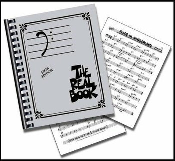 The Real Book, Volume I (Bass Clef Edition), cover