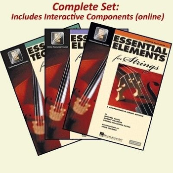 Essential Elements Bass Book Set with Audio and Video Tracks, covers