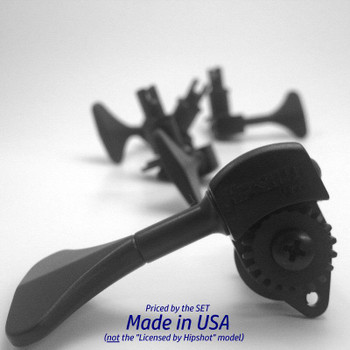 Hipshot Ultralite Tuning Machines for NXT and WAV4 Electric Upright Bass, product view