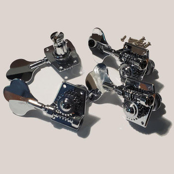 Tuning Machines for Electric Upright Bass (Tuners) - Set of FOUR includes 2L, 2R, four collets and 16 screws