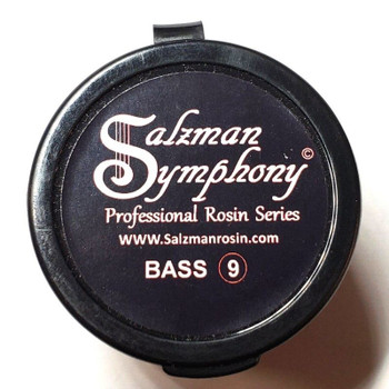 Salzman Symphony Bass Rosin, top package view