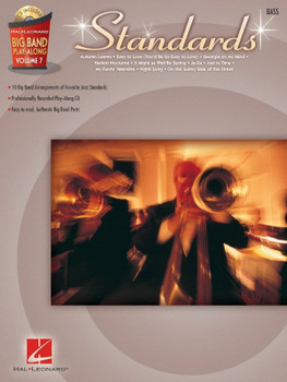 "Big Band Play-Along, ""Standards"" - Book with Play-Along Audio Tracks, cover"