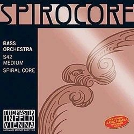 Spirocore Upright Bass Strings, standard package