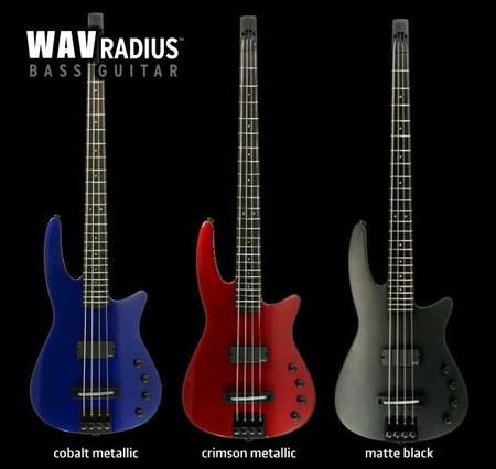Radius Bass Guitars, Wav Models