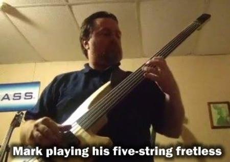 Radius Bass Guitars, 5 string fretless