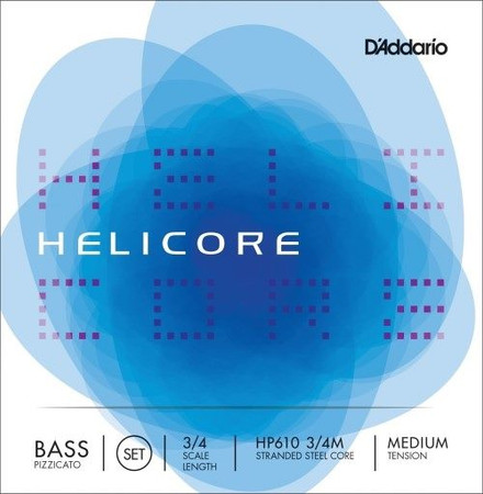 """Helicore """"Pizzicato"""" Strings, standard package front"""