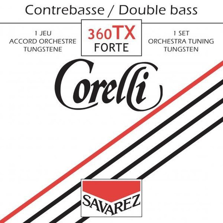 Corelli 360 SOLO Tuning Upright Bass Strings, 360TX Package