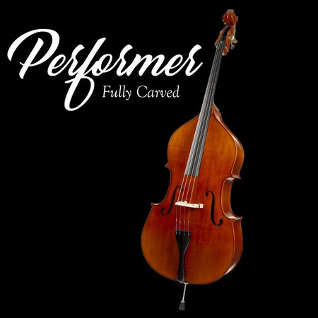 Estle Louis Fully Carved 'Performer' Bass, Product art