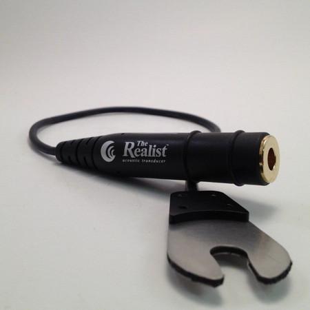 Realist LifeLine Upright Bass Pickup, 1/4 jack and transducer