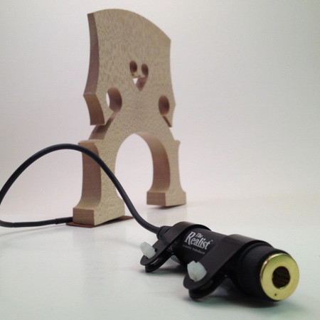 Realist Pickup for Double Bass (Original and Wood Version), 1/4 jack and transducer