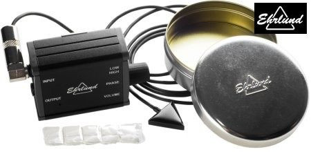 Acoustic Pickup (EAP) Linear Microphone (for Upright Bass), full kit