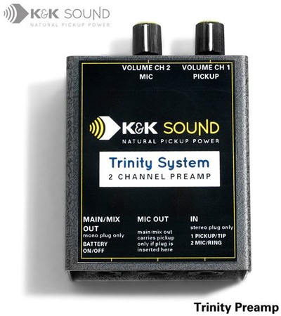 Golden Trinity Microphone/Pickup COMBINATION Systems, preamp