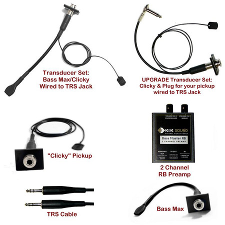 Individual Components for the Bass Master Rockabilly Systems - Overview