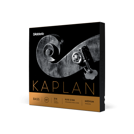 Kaplan Orchestral Upright Bass Strings, standard package side