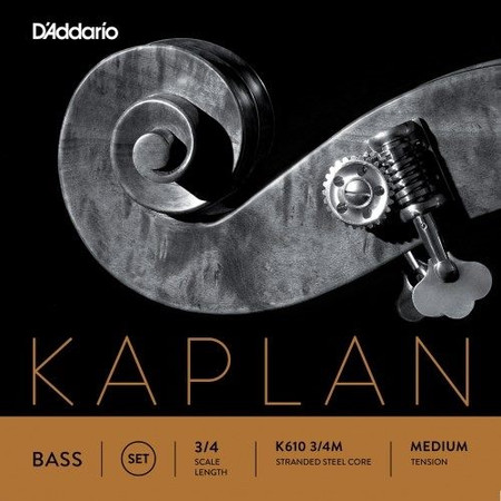 Kaplan Orchestral SOLO TUNING Upright Bass Strings, standard package front