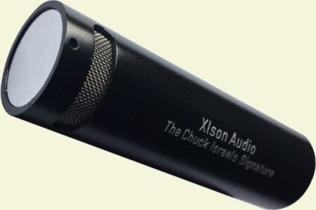 Chuck Israels Signature Microphone for Double Bass, mic closeup