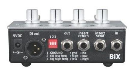 BiX - One Channel Mini Preamp. preamp back