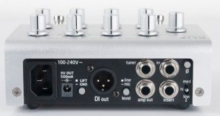 ALiX - One Channel Preamp, preamp back